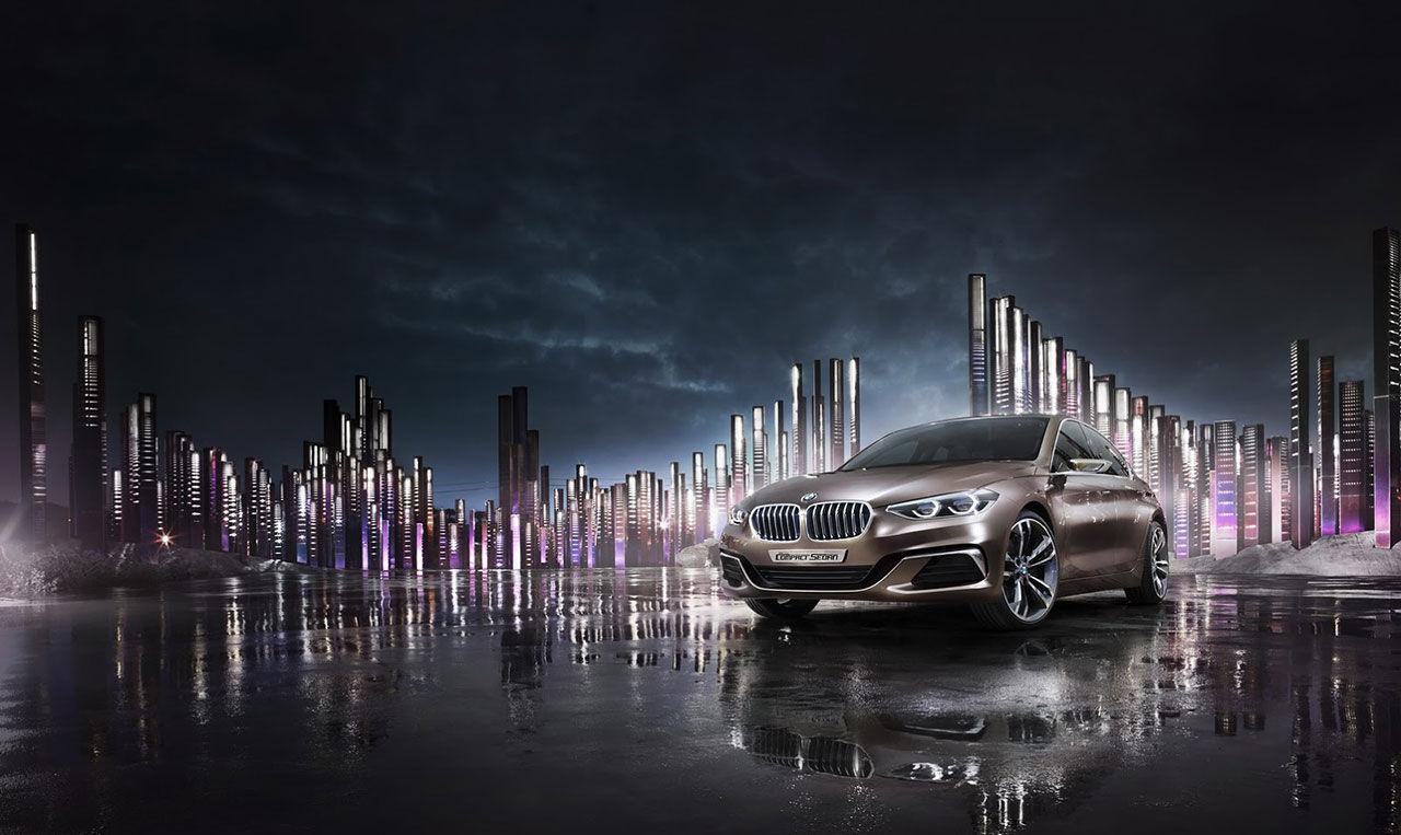 BMW presenterar Concept Compact Sedan