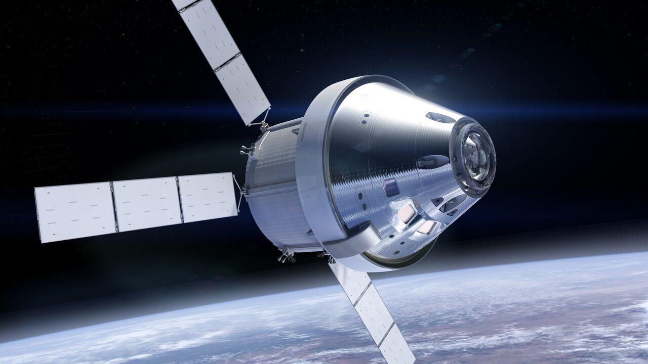 Rymdkapseln Orion får ny ytbeläggning