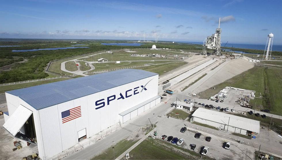 NASA har beställt bemannad rymdfärd med SpaceX