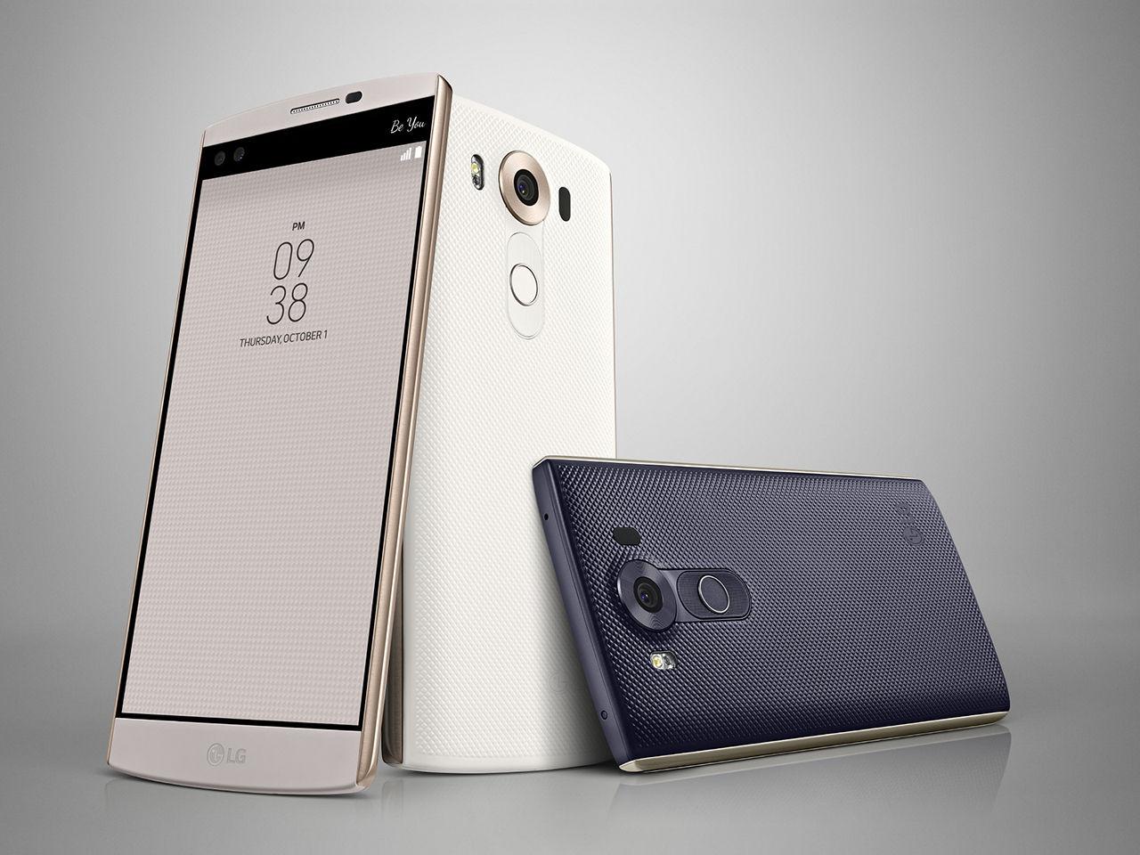 LG kommer lansera V10 i Sverige tidigt nästa år