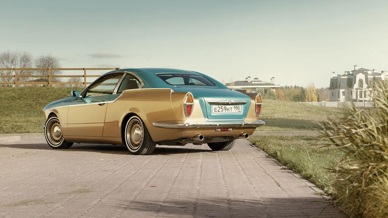 Rysk retrodesign baserad på gamla BMW 3-serie