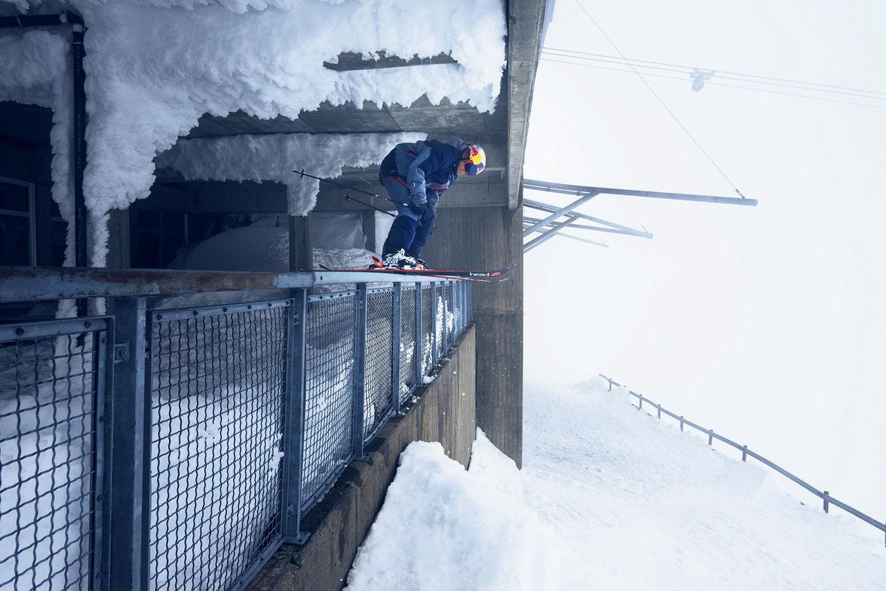 Den sista skidfilmen i A Skier Knows