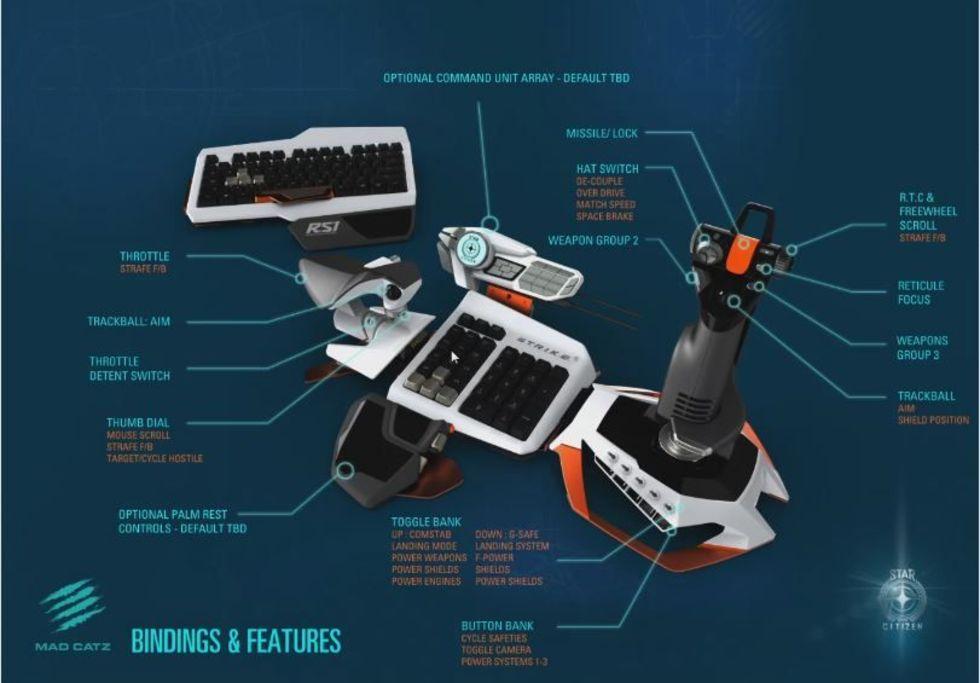 Star Citizens specialgjorda spelkontroll Atom släpps nästa månad
