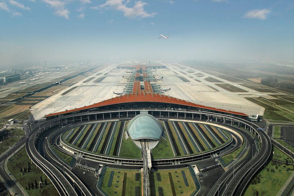Världens största flygplats ska byggas i Kina