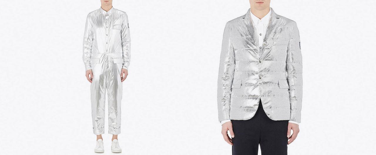 Klä dig i silver