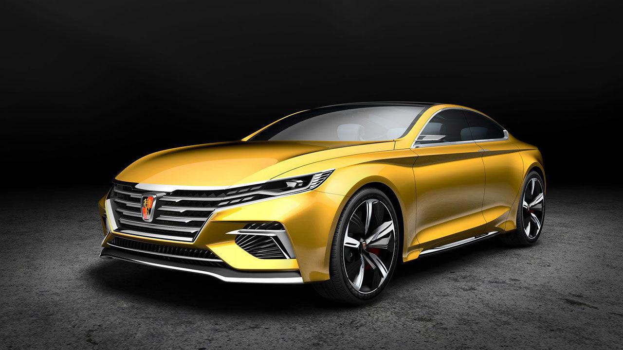 Roewe visar ny konceptbil