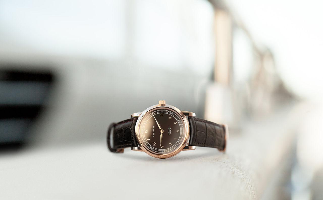 Visage Nº1 - ny klocka från Corniche