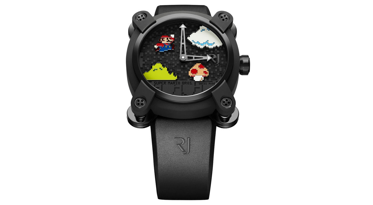 Ny klocka från Romain Jerome med Mario-tema