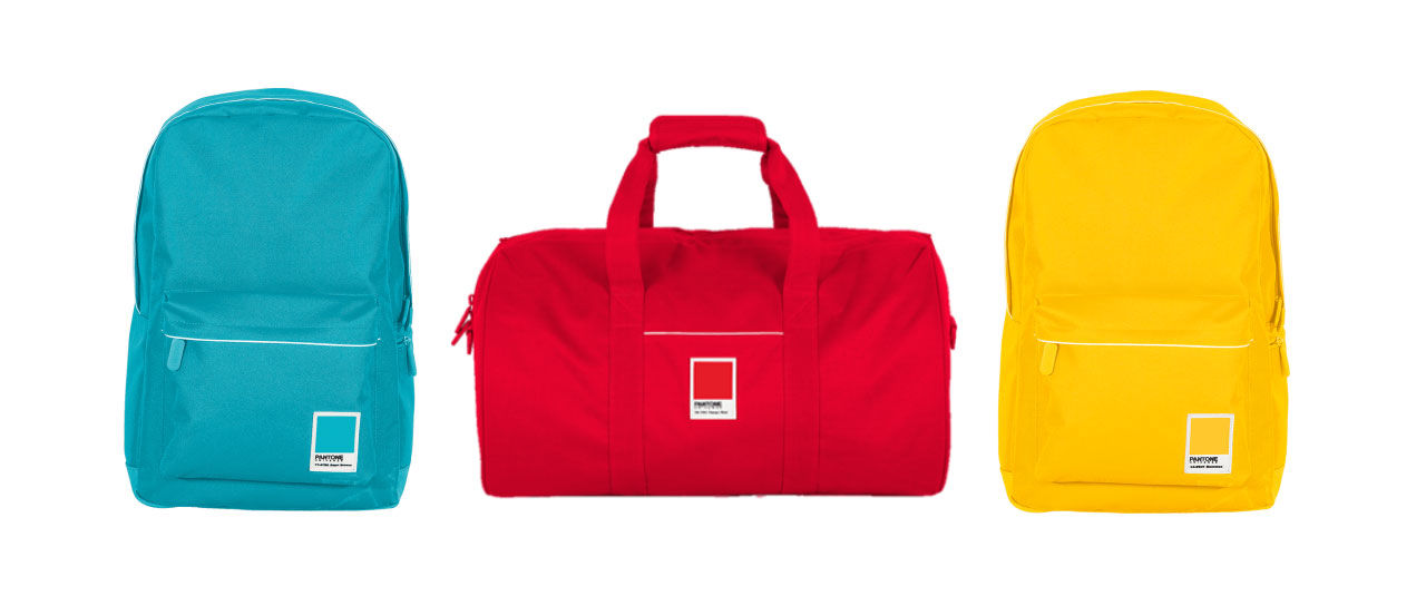 Väskor med Pantone-färger