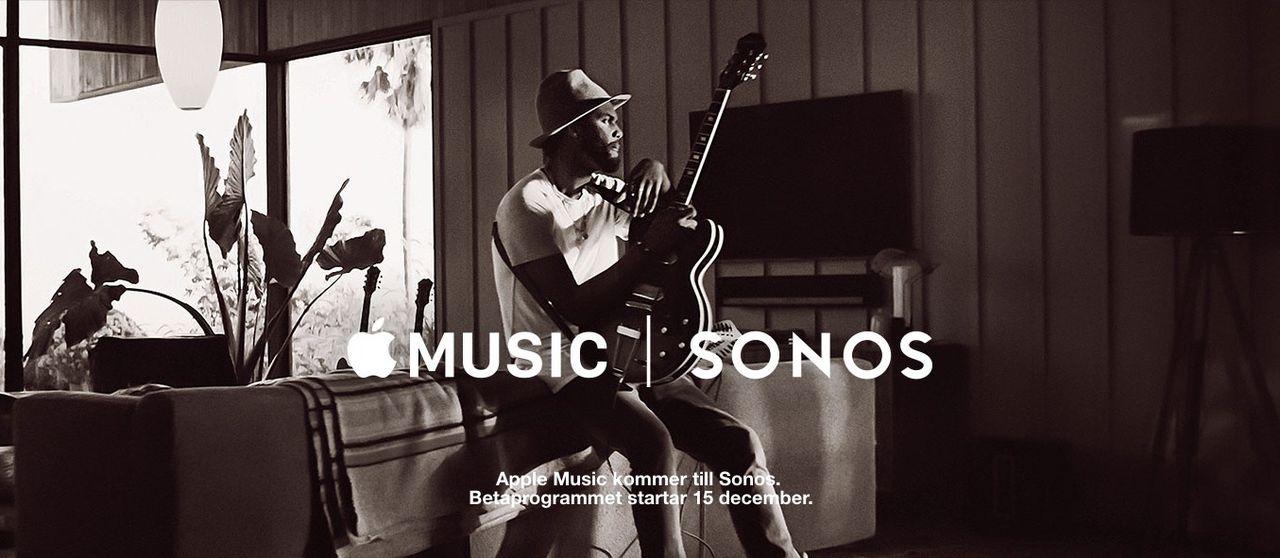 Apple Music kommer till Sonos