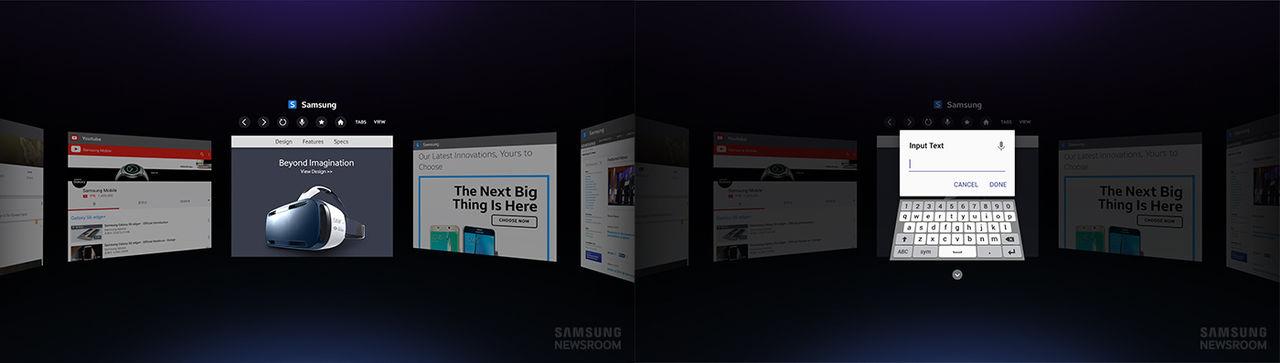 Samsung släpper webbläsare för Gear VR