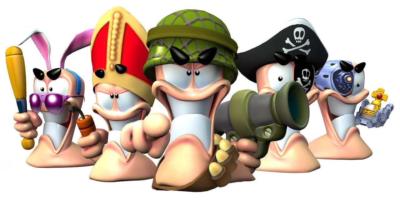 Worms-serien har sålt i 70 miljoner exemplar
