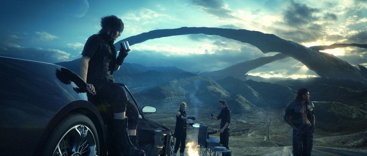 Nu är Final Fantasy XV spelbart från början till slut