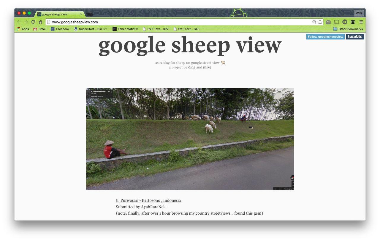 Google Sheep View
