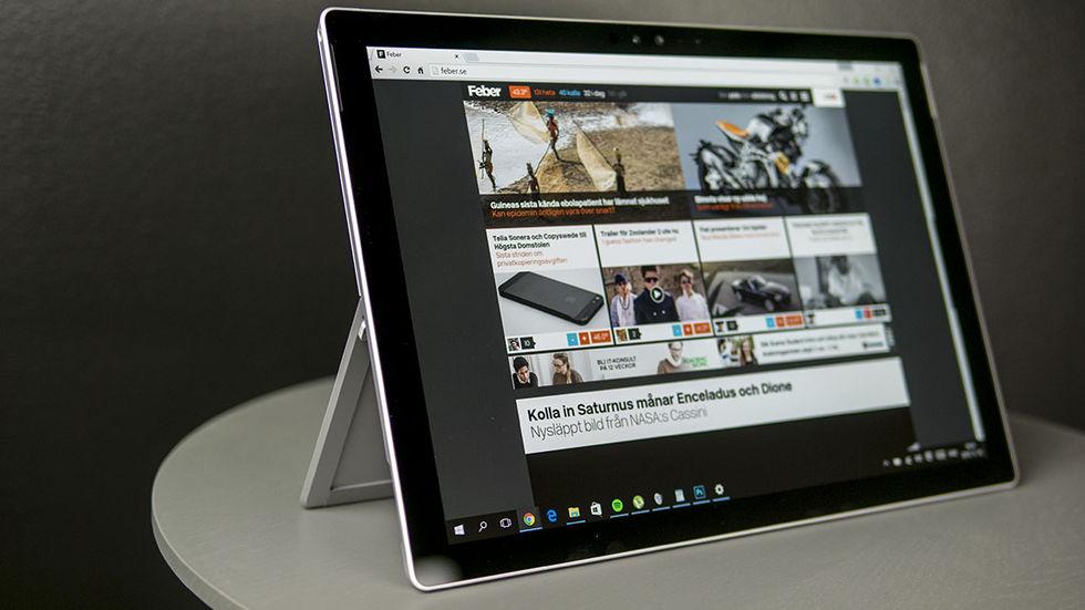 Vi har testat Microsoft Surface Pro 4