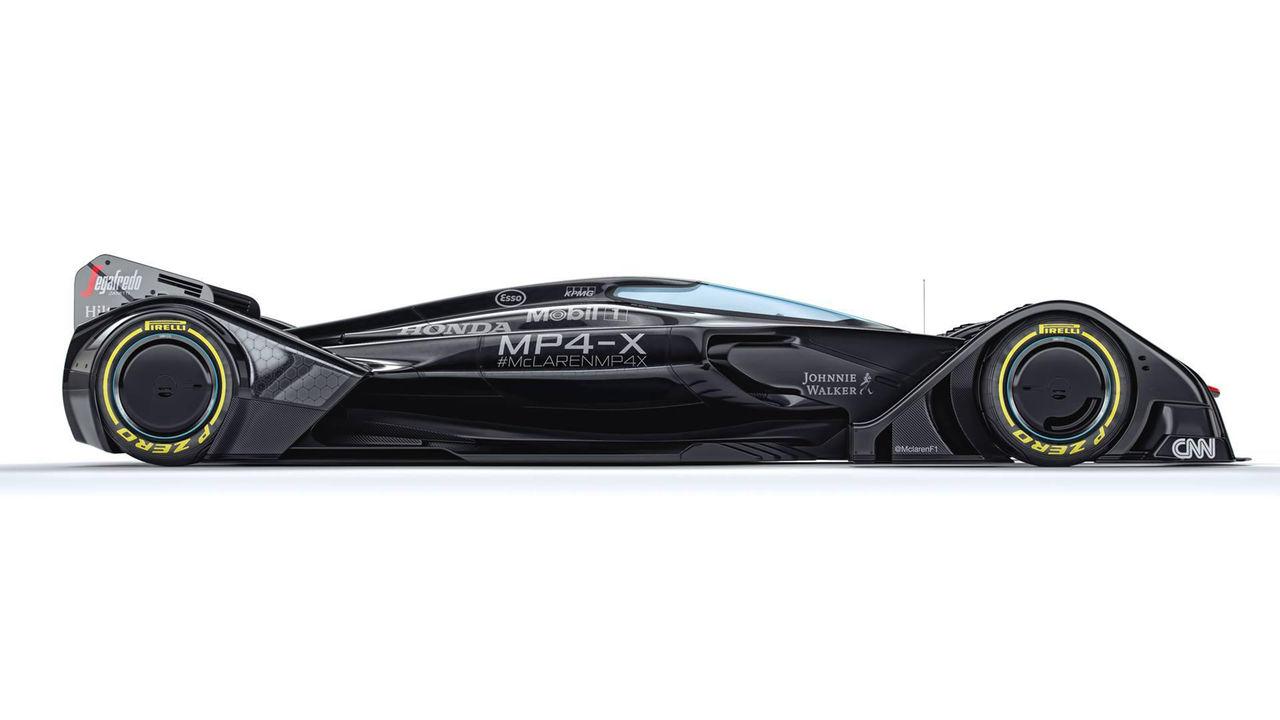 McLaren visar nytt Formel 1-koncept