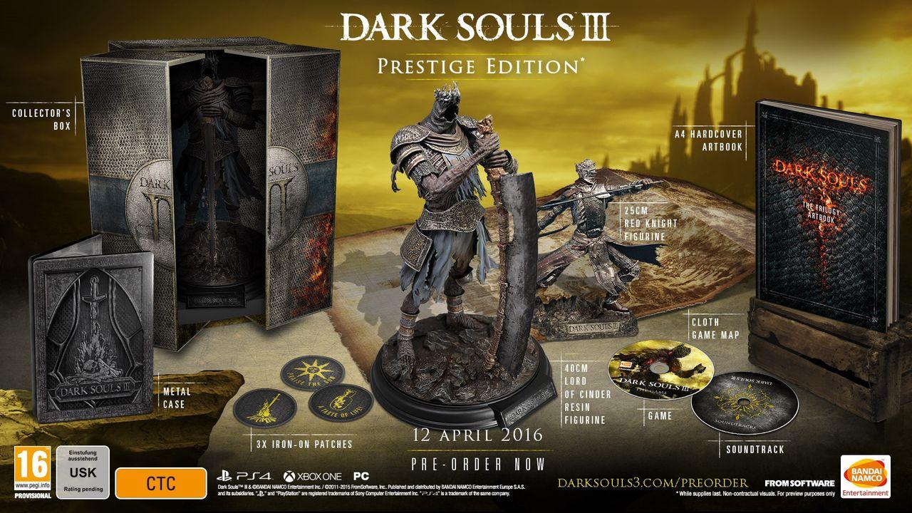 Dark Souls III släpps 12 april