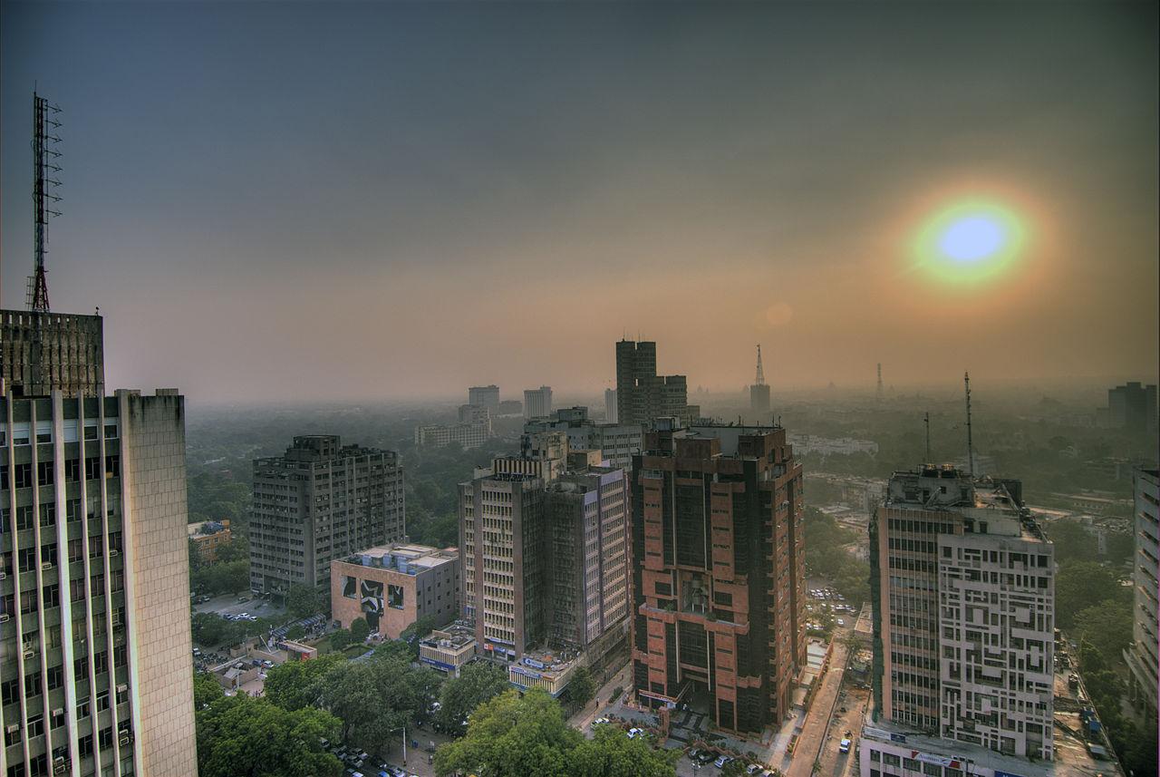 Privat bilism begränsas i Indiska Delhi