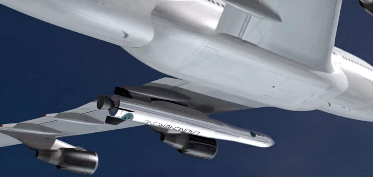 Virgin Galactic ska skjuta upp raketer från ett flygplan