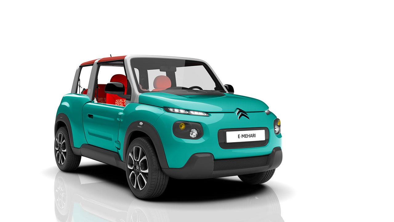 Citroën presenterar eldrivna E-Méhari