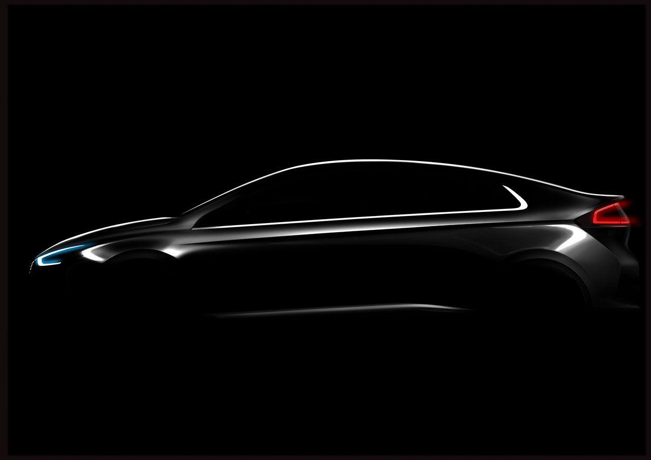 Hyundai visar dunkel bild på IONIQ