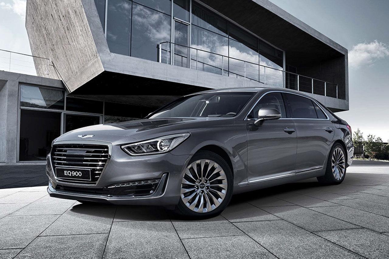 Hyundai presenterar lyxvagnen Genesis G90
