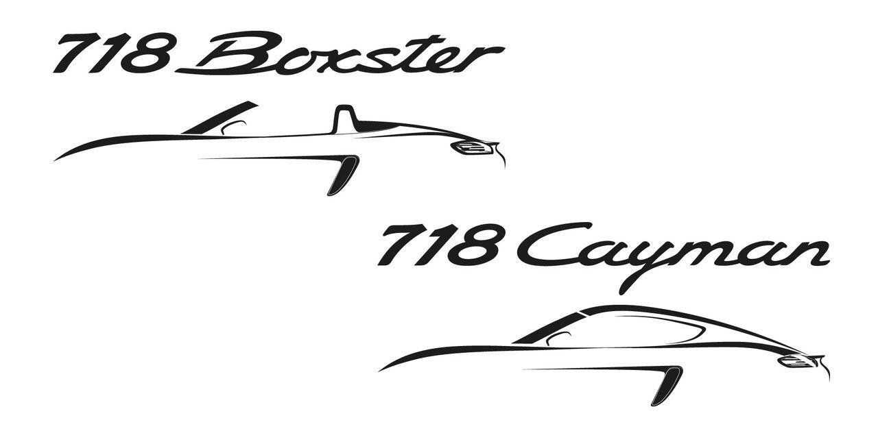 Porsche Boxster och Cayman byter namn