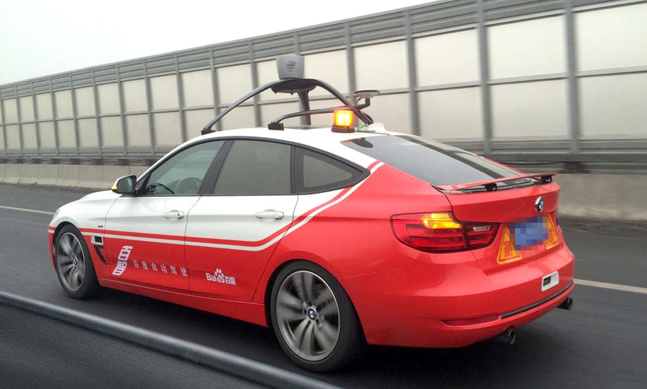 Baidu genomför lyckat test med självkörande bil