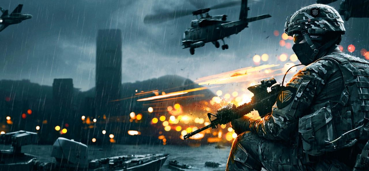 Nu är det fullt fräs med Battlefield för DICE