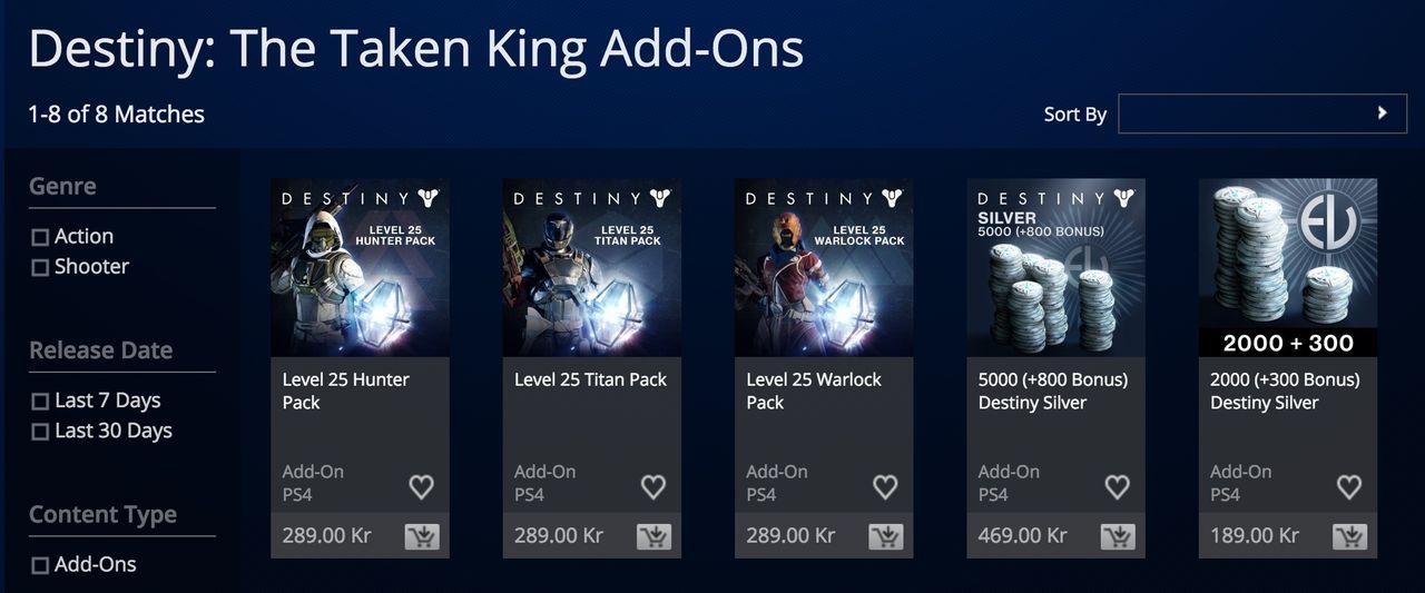 Köp dig till nivå 25 i Destiny