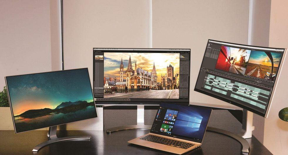 LG smygvisar upp nya skärmar innan CES