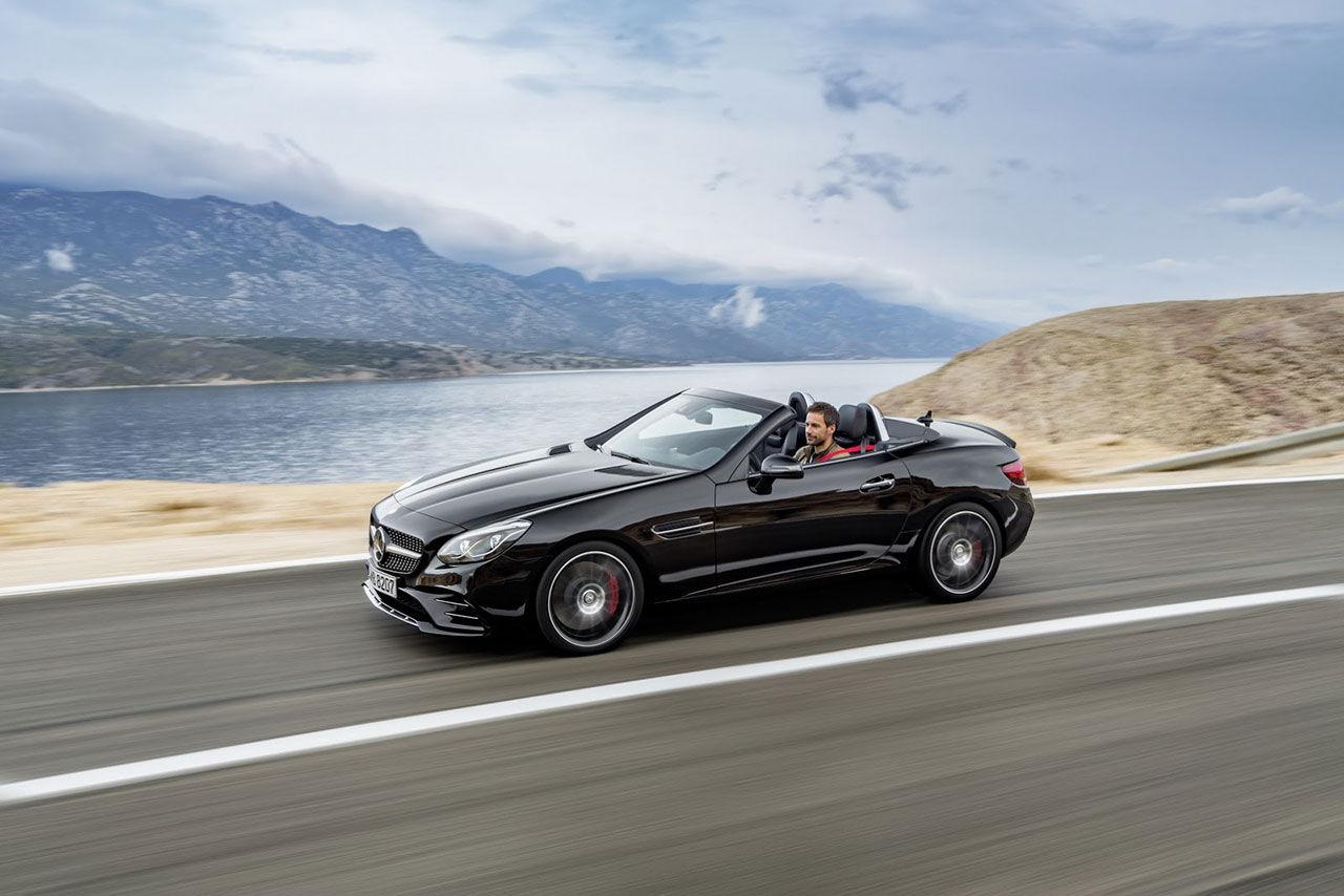 Mercedes lyfter SLK
