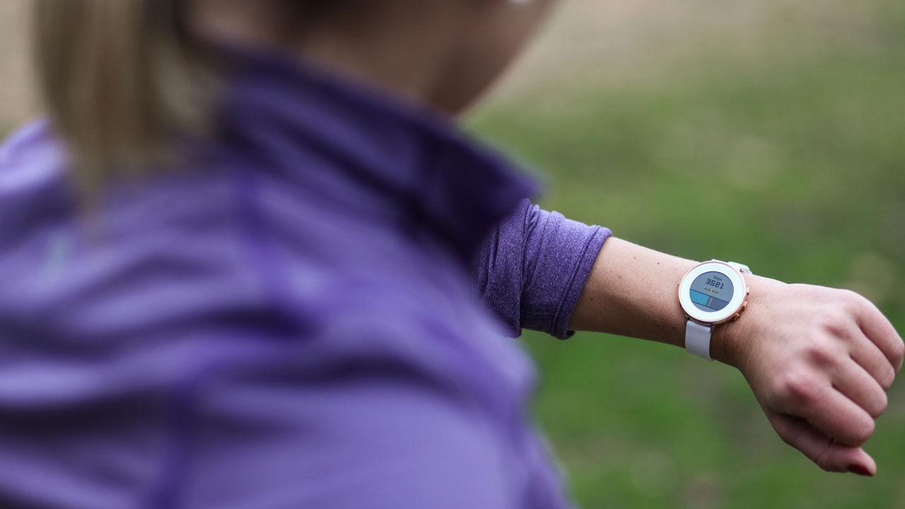 Pebble-klockor blir fitnesstrackers med ny uppdatering