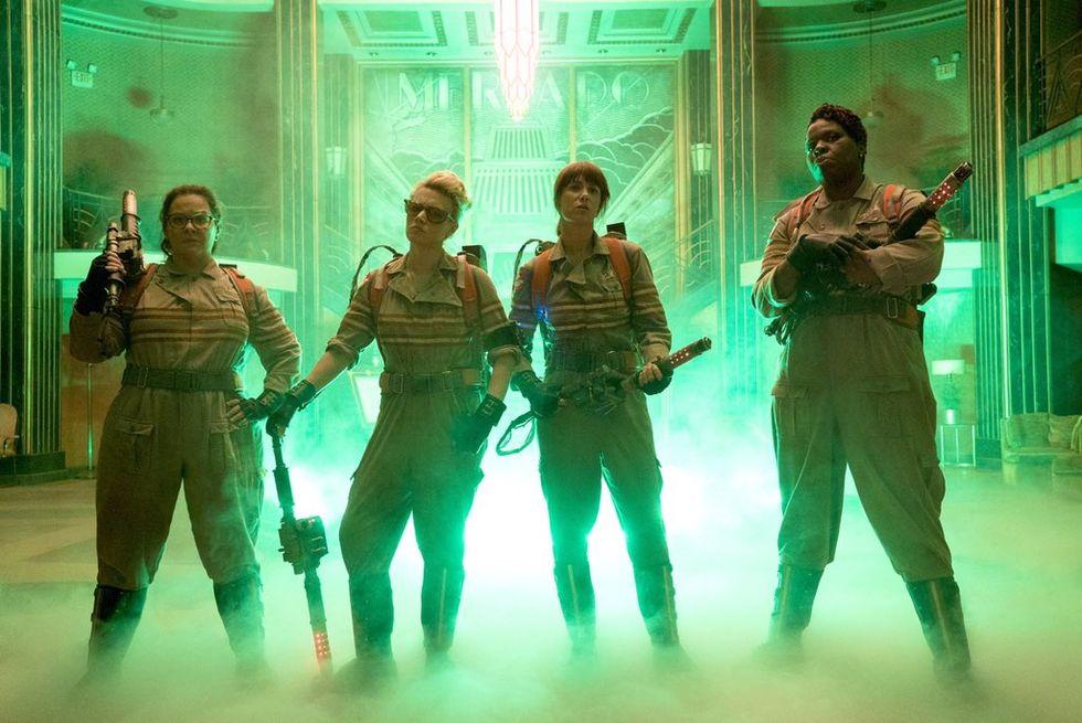 Första officiella bilden på nya Ghostbusters