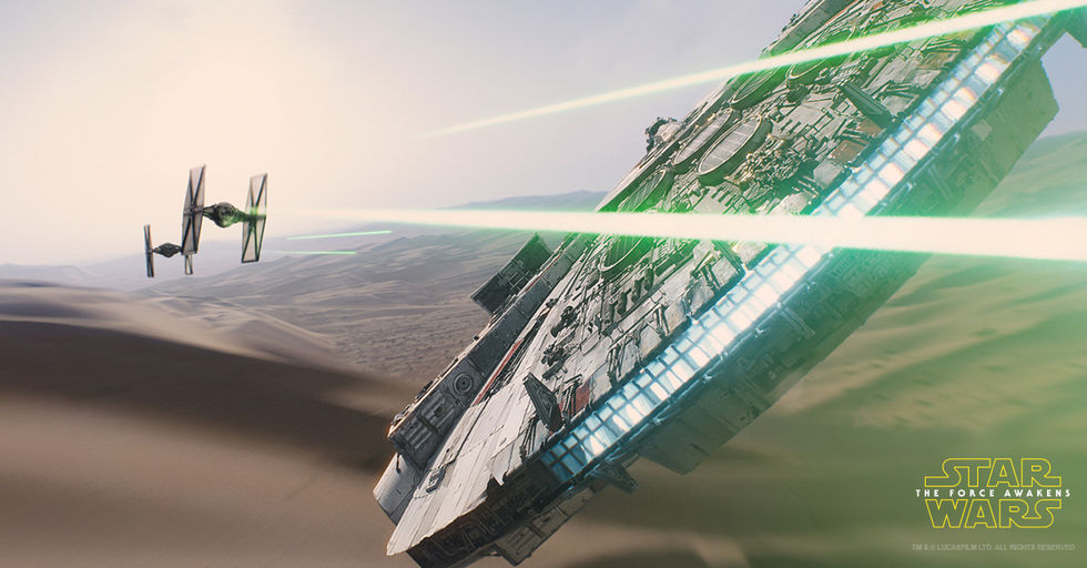 113.187 personer såg The Force Awakens på svenska premiären