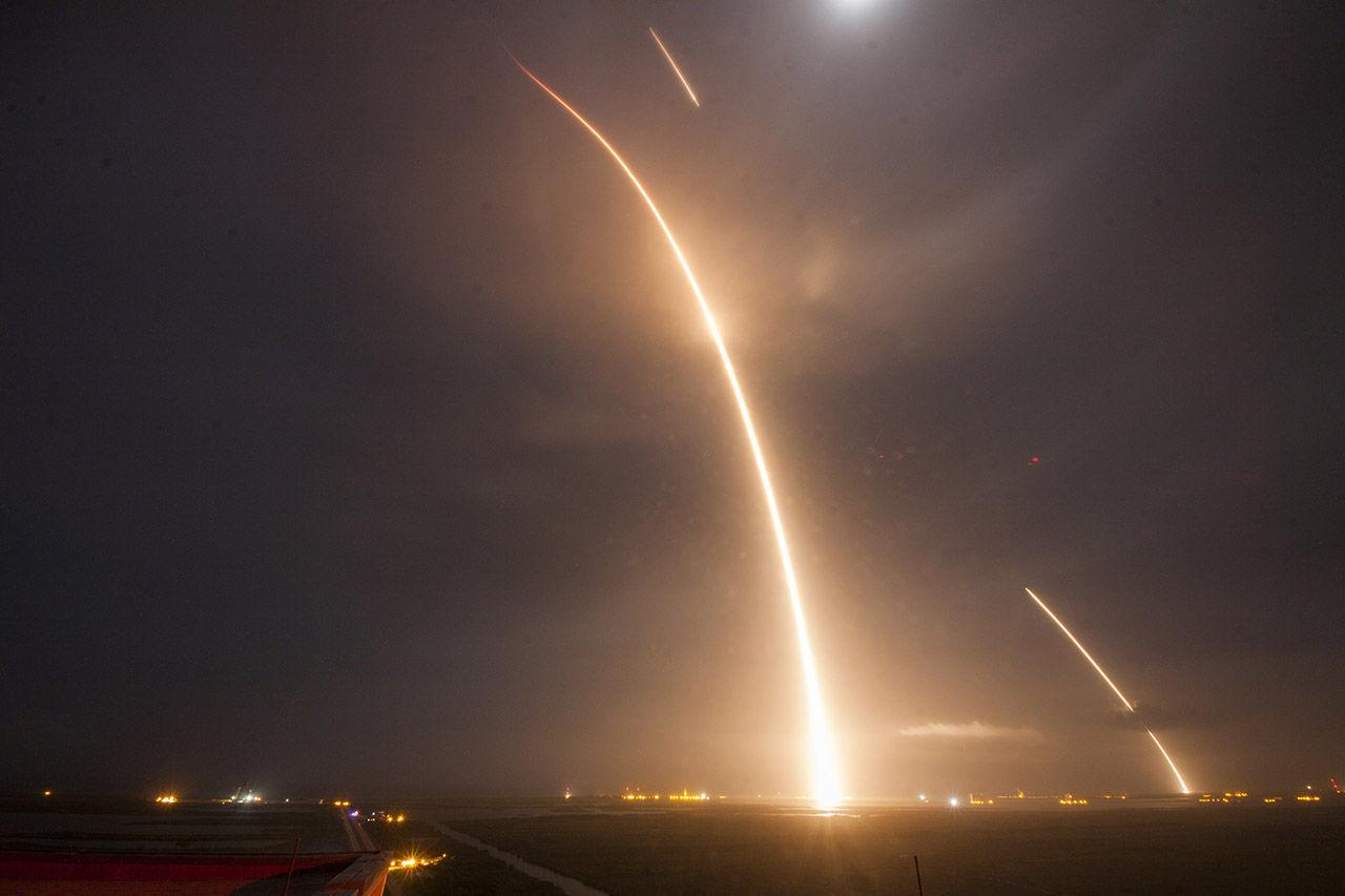 SpaceX Falcon 9 lyckas äntligen landa