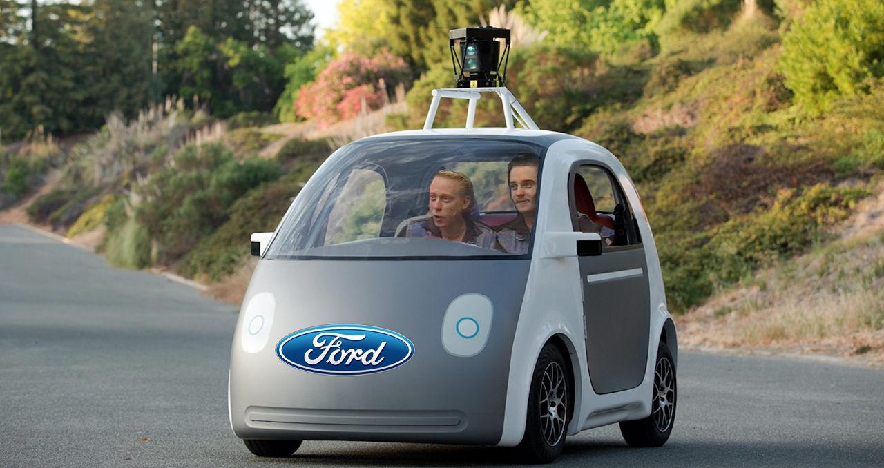 Google jobbar med Ford?