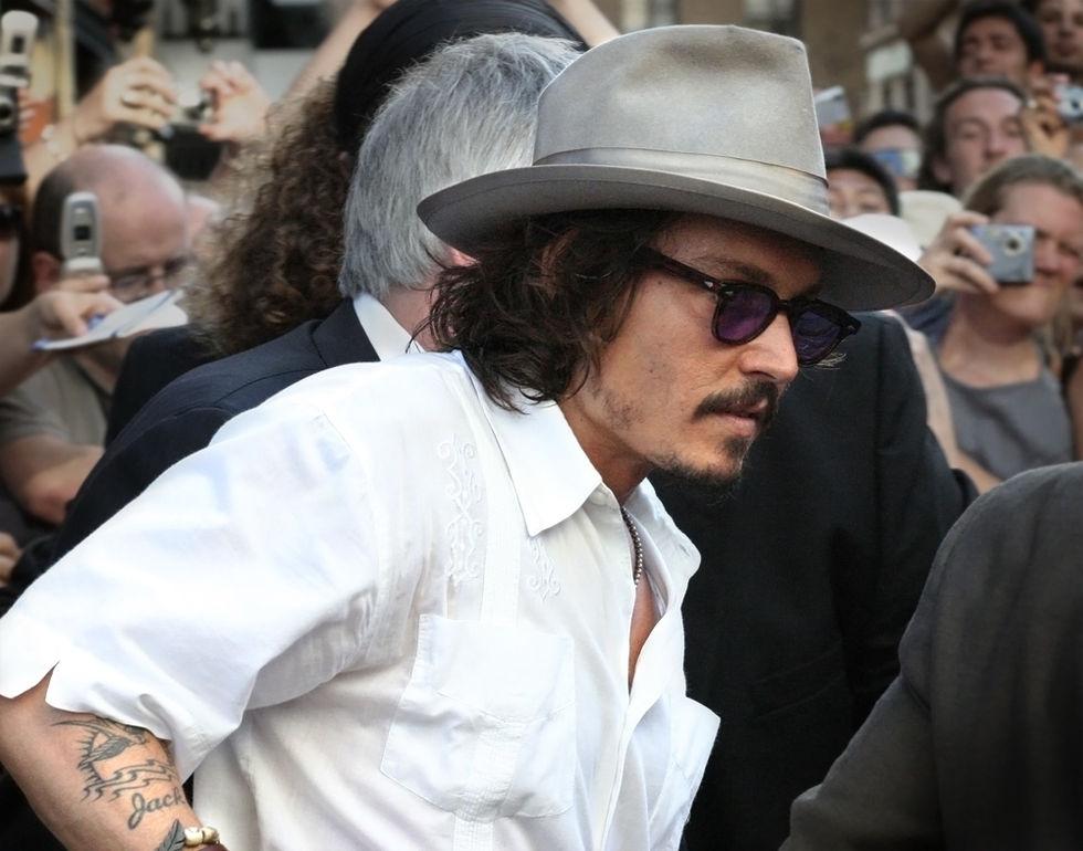 Johnny Depp var den mest överbetalda skådespelaren i år