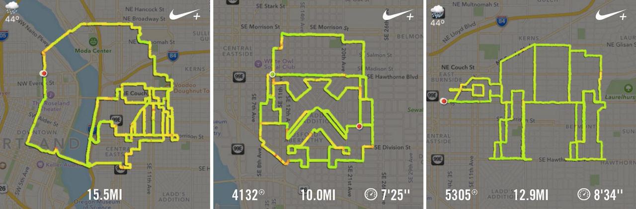 Snubbe använder Nike+ för att göra Star Wars-motiv