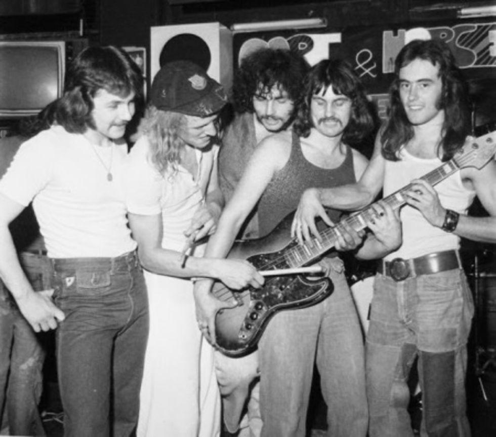 Tut i luren - idag fyllar Iron Maiden 40 år