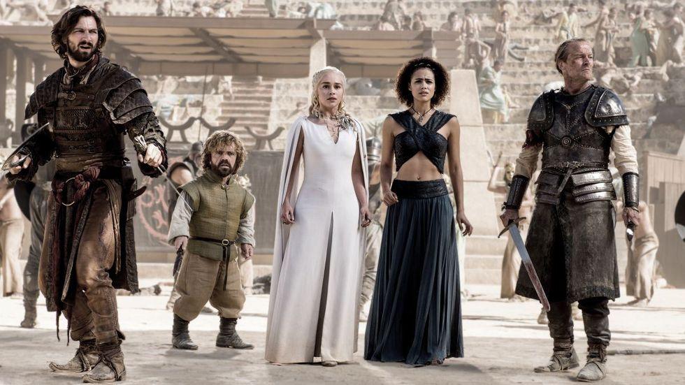Game of Thrones mest nedladdade TV-serien 2015