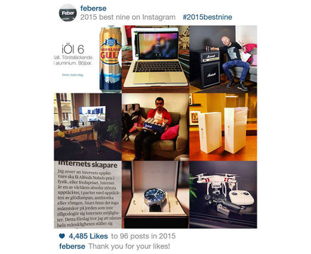 Nu kan du köra flera konton i Instagram appen. Funkar på iOS