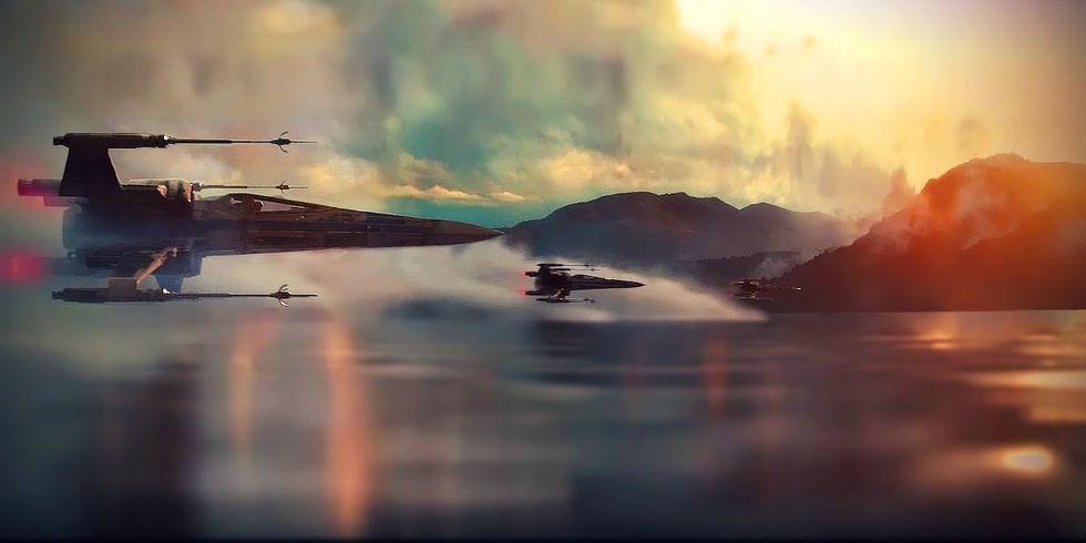 The Force Awakens drog in en miljard dollar på tolv dagar