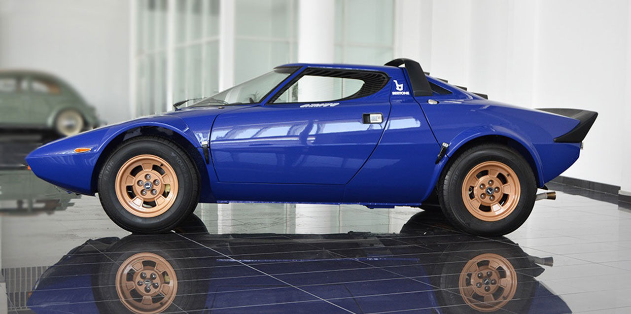 Vacker Lancia Stratos till salu