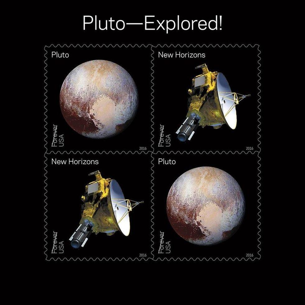 USA släpper rymdinspirerade frimärken