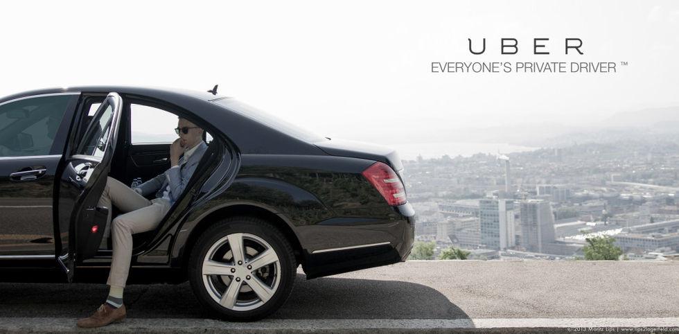Uber har kört en miljard resor