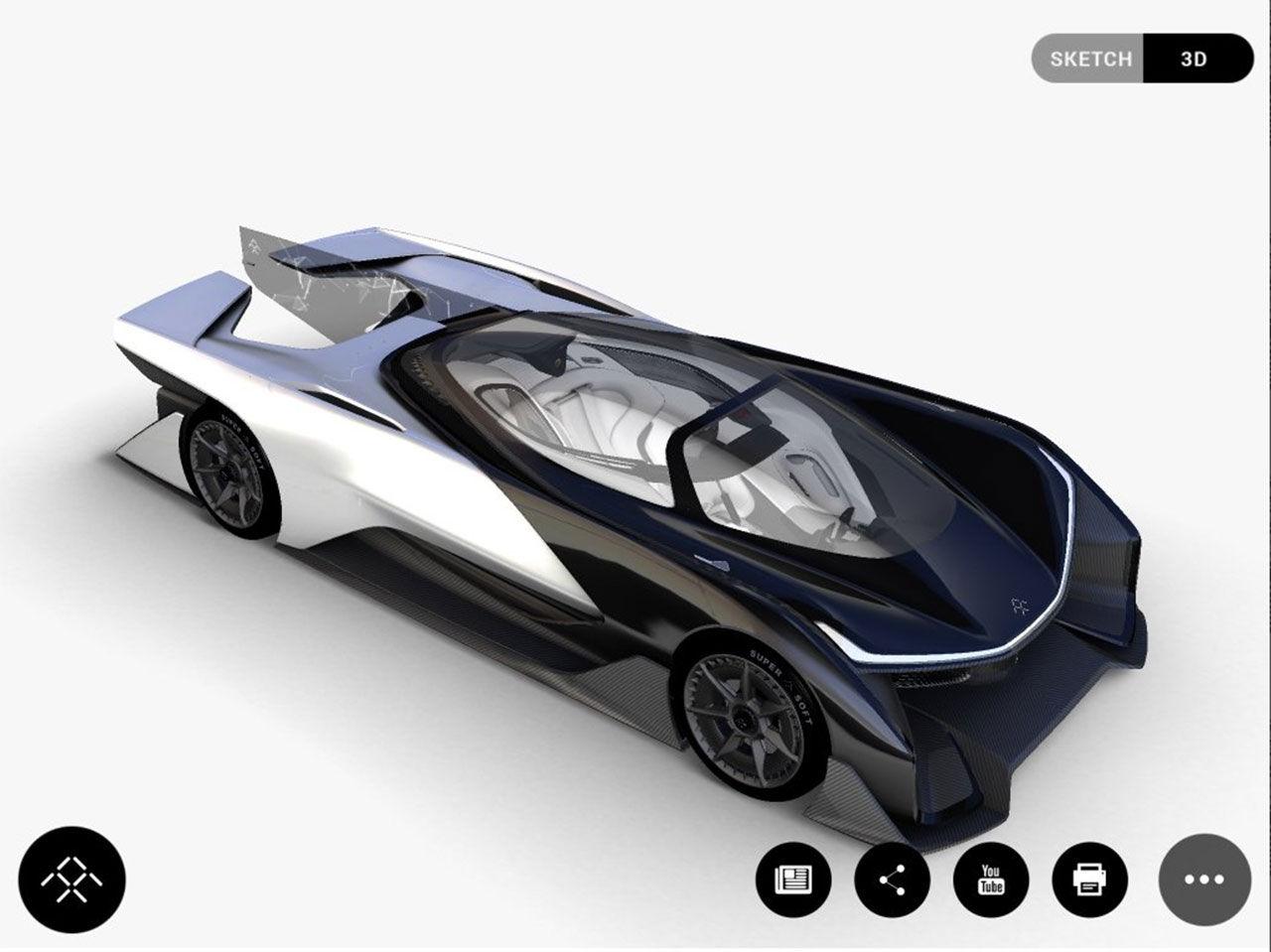 Är det här Faraday Futures elbil?
