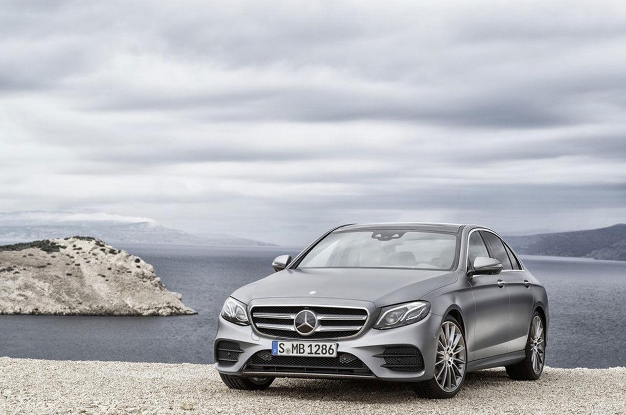 Nya Mercedes E-Klass läcker ut