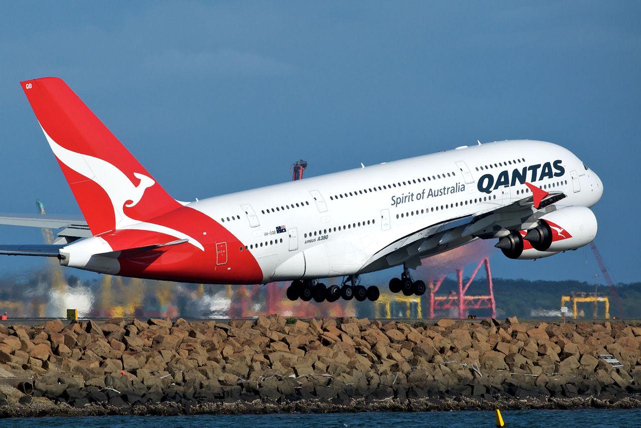 Qantas är världens säkraste att flyga med