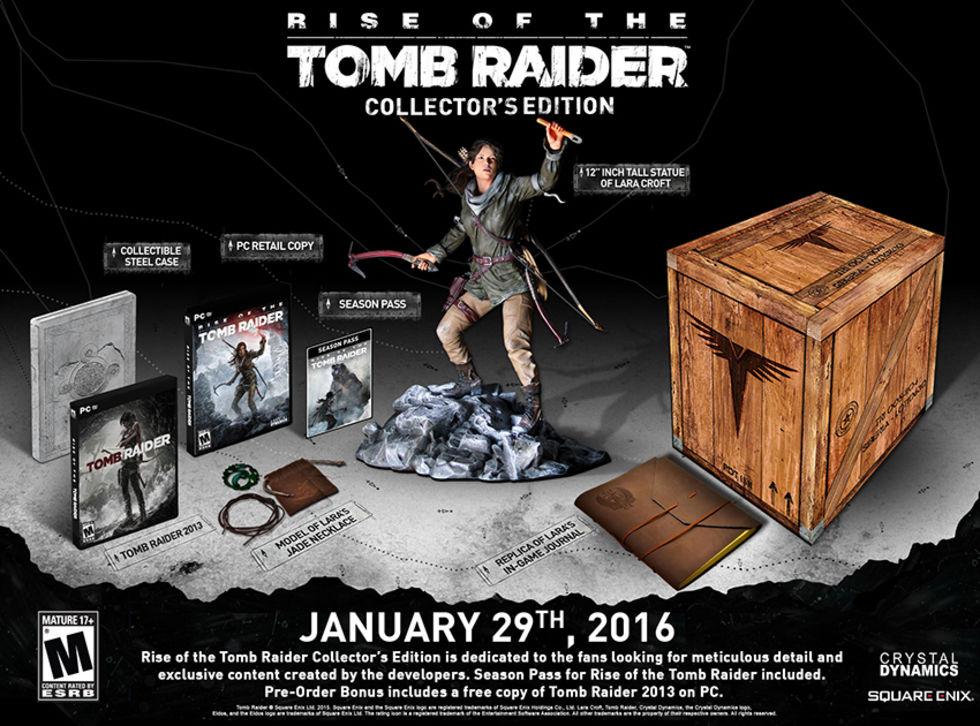 Släppdatum för Rise of the Tomb Raider